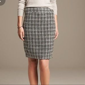 NWT BANANA REPUBLIC | Tweed A-Line Skirt